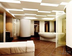 现代简约卫生间瓷砖图片大全
