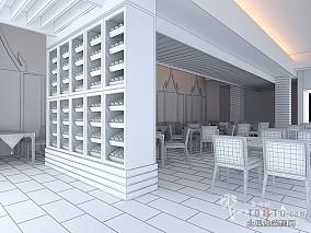2014餐厅背景墙造型