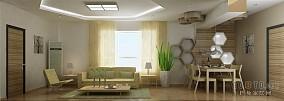 温馨简欧客厅设计图片