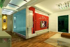 白色卫生间瓷砖图片