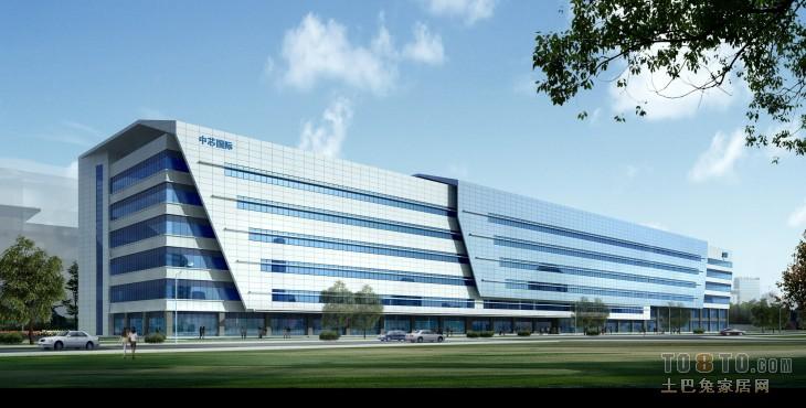 中芯国际-办公楼装修效果图