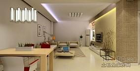 2018精选94.9平米3室客厅混搭装修设计效果图片欣赏