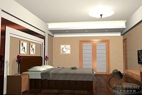 复式楼开放式卧室装修图欣赏