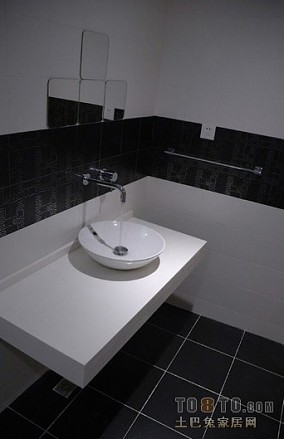 卫生间玻璃隔断装修效果图1