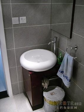 简约小卫生间马可波罗瓷砖图片