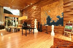 复古感135平的三室两厅两卫图片