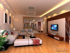 现代设计三房两厅装潢