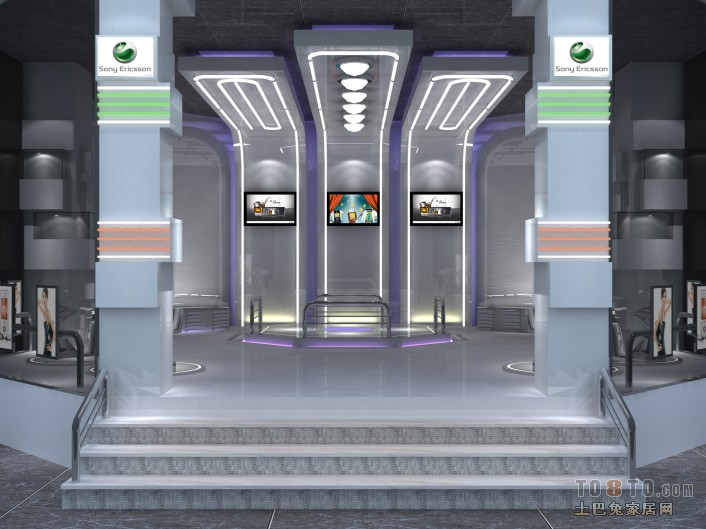 设计师 装修效果图 商业空间
