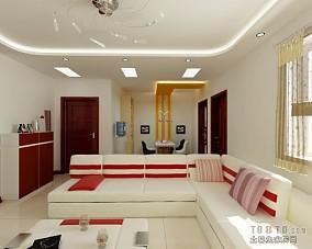 文艺范63平米两室一厅装修图