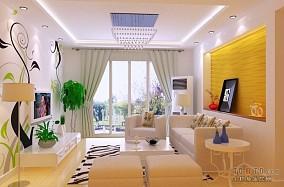 质感现代简约客厅地板