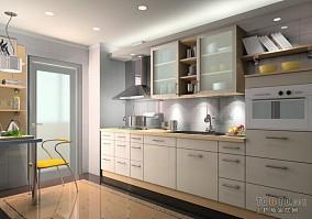 装修厨房设计图