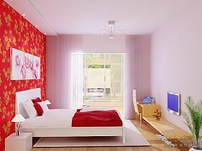宜家风格家装卧室图片