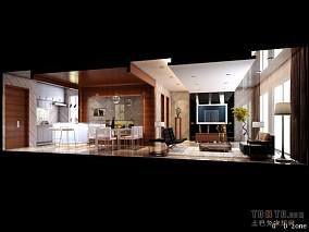 70平米装修设计复古客厅图片