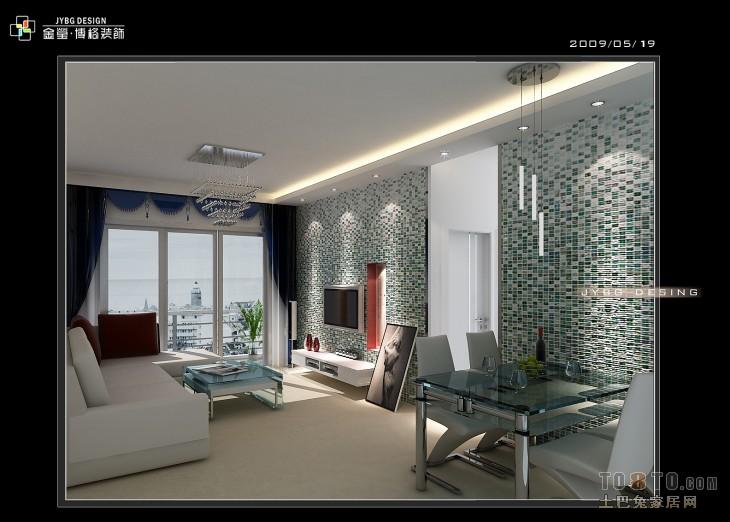 现代简欧客厅吊顶图片欣赏设计图片赏析