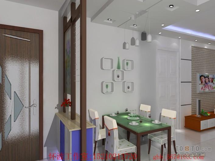 中式现代餐厅装修效果图 单张展示 回龙观限价房地块装修效果图 腾云高清图片
