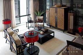新中式风格设计客厅装修案例