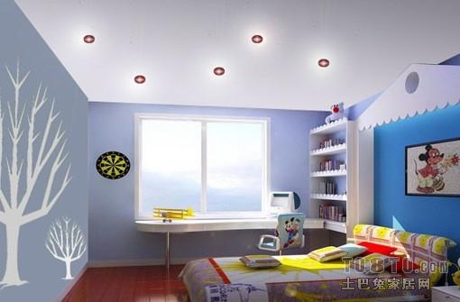 欧式现代儿童房装修效果图