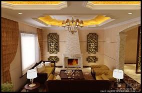 温馨简约装潢风格客厅设计