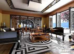 豪华欧式沙发设计效果图片