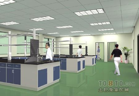 北京盈居实验室装饰有限公司最新作品 医院设计装修设计案例高清图片