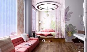 2018精选117平米简约复式卧室装修欣赏图片