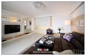 清爽90平米2室一厅图片