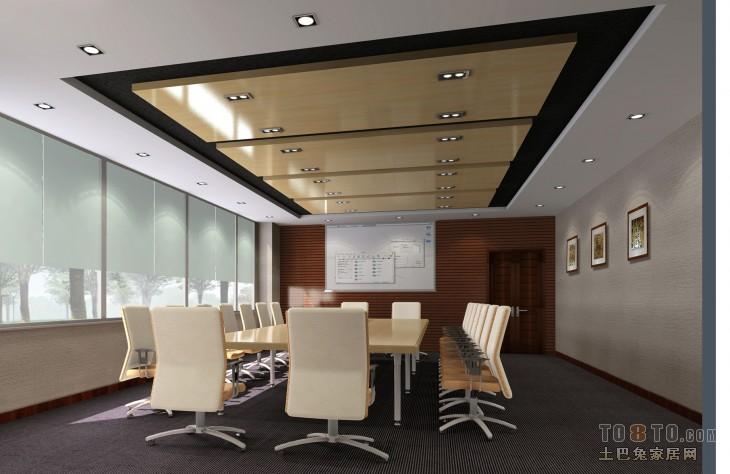 三层小会议室办公空间其他设计图片赏析