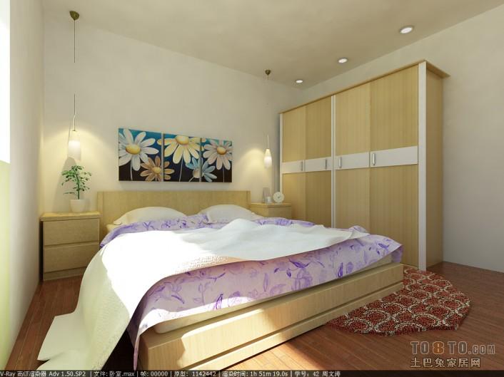 热门二居卧室混搭效果图卧室潮流混搭卧室设计图片赏析
