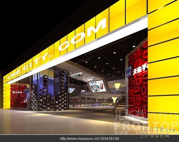 数码城门头初样渲染购物空间其他设计图片赏析