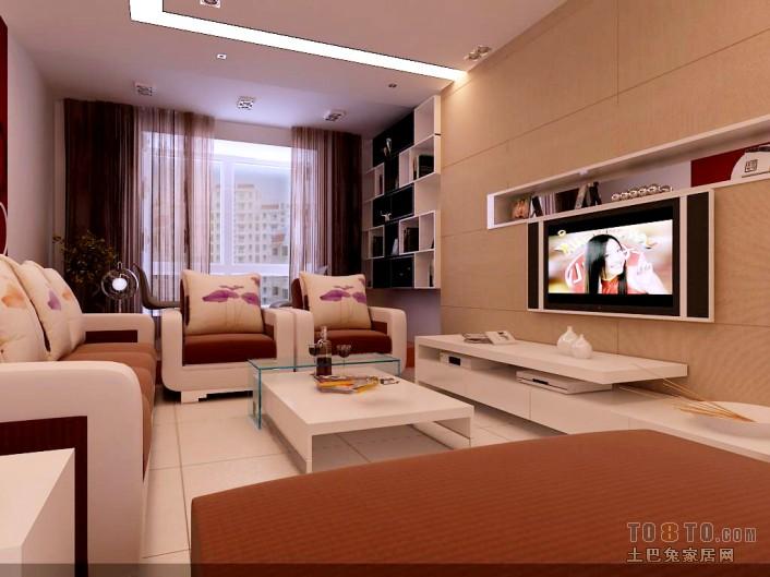 精选77平方二居客厅混搭装修实景图客厅潮流混搭客厅设计图片赏析