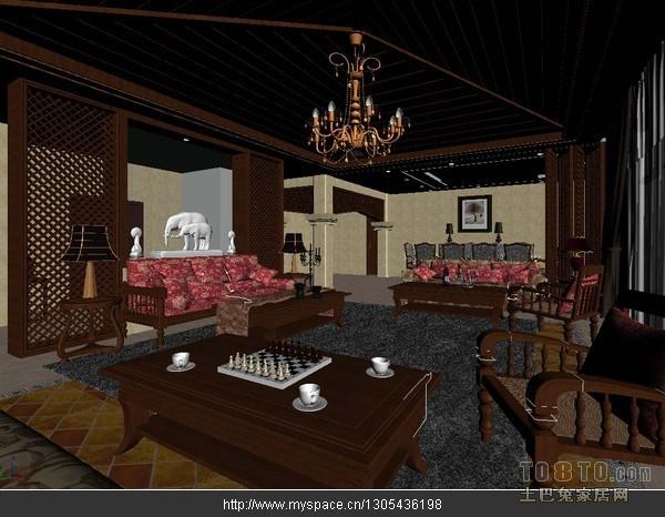 酒店套房模型图购物空间其他设计图片赏析