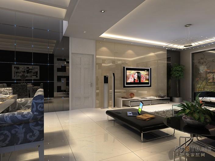 典雅66平混搭复式客厅装修图客厅潮流混搭客厅设计图片赏析