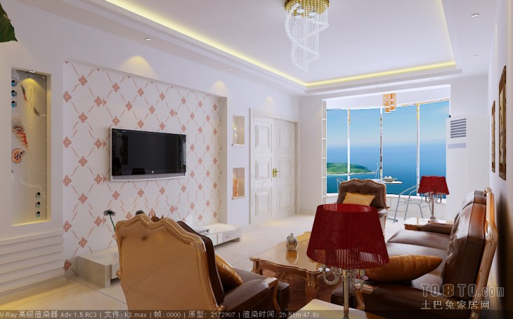 02客厅潮流混搭客厅设计图片赏析