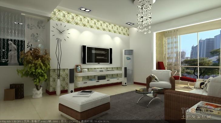 客厅01客厅潮流混搭客厅设计图片赏析
