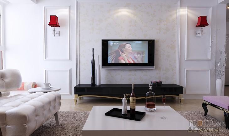精选96平米三居客厅混搭装修实景图客厅潮流混搭客厅设计图片赏析