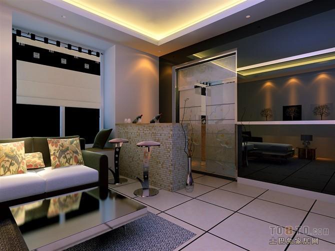 精美面积72平小户型客厅混搭装修实景图片大全客厅潮流混搭客厅设计图片赏析