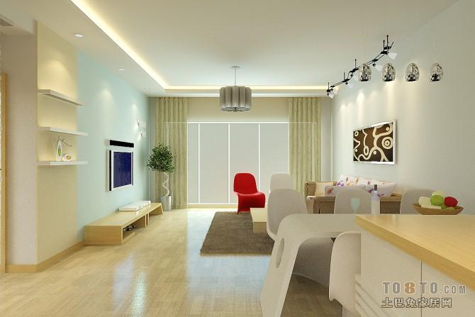 平方二居客厅混搭效果图片客厅潮流混搭客厅设计图片赏析