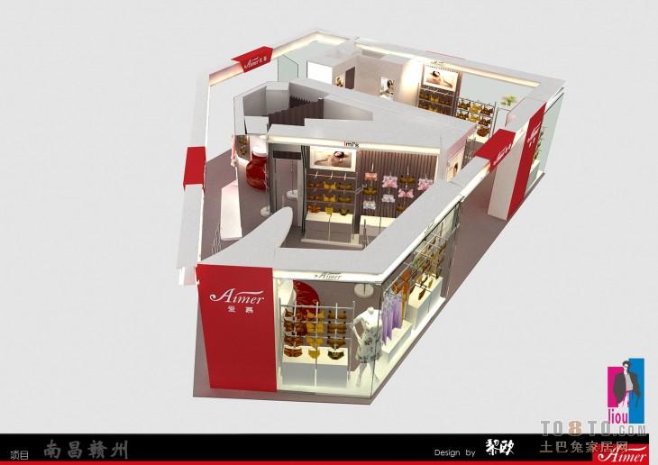 效果图5购物空间设计图片赏析