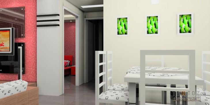 2018精选83平混搭二居装修效果图片大全客厅潮流混搭客厅设计图片赏析