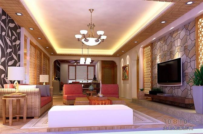 精选大小118平混搭四居客厅装修实景图片客厅潮流混搭客厅设计图片赏析