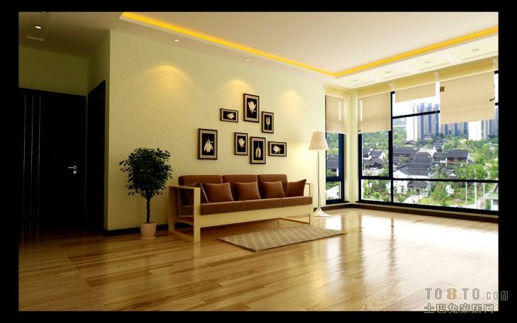 精选混搭3室客厅实景图片98平客厅潮流混搭客厅设计图片赏析
