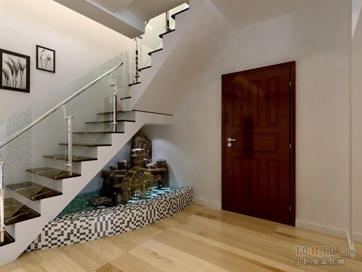热门124平米混搭复式客厅装修实景图片大全客厅潮流混搭客厅设计图片赏析