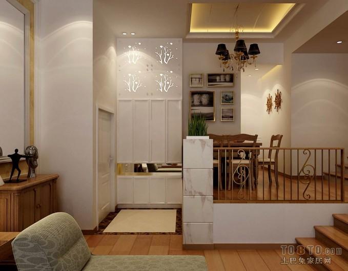 优美69平混搭复式客厅案例图客厅潮流混搭客厅设计图片赏析