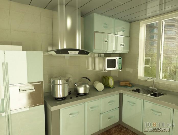 泛美橱柜效果图汇总餐厅潮流混搭厨房设计图片赏析