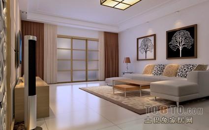 优美99平混搭三居客厅设计美图客厅潮流混搭客厅设计图片赏析
