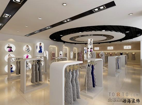 女装展厅2效果办公空间其他设计图片赏析