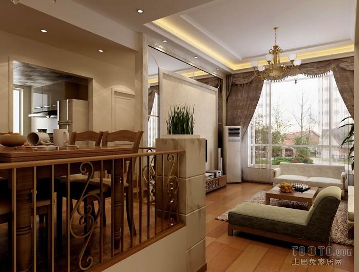优雅77平混搭复式客厅装饰美图客厅潮流混搭客厅设计图片赏析