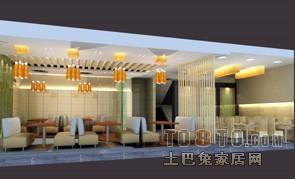 二层餐饮空间设计图片赏析