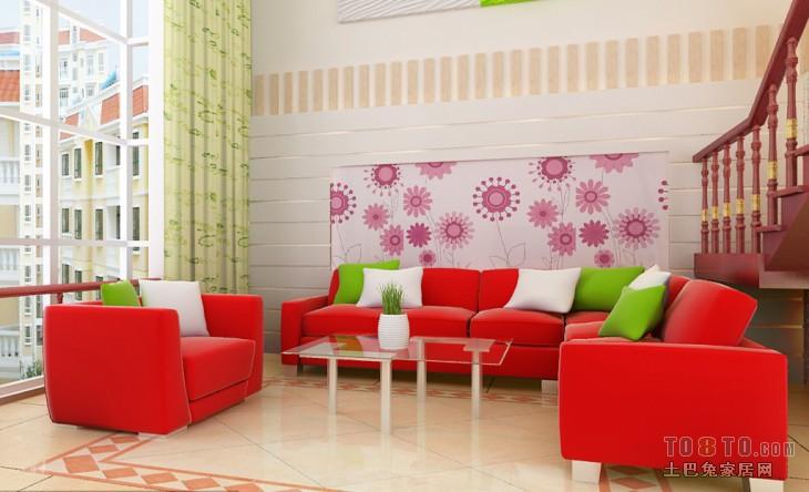 精选面积134平复式客厅混搭欣赏图客厅潮流混搭客厅设计图片赏析