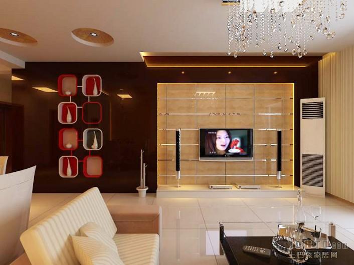 2018精选103平米三居客厅混搭装修实景图片大全客厅潮流混搭客厅设计图片赏析